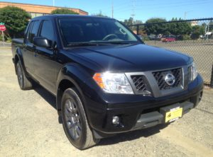 2012 Nissan Frontier Crew Cab SV Pickup 4D 5ft