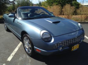 2005 Ford Thunderbird Convertible 2D