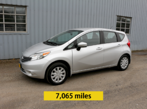 2016 Nissan Versa Note S Plus Hatchback 4D