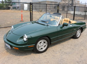 1991 Alfa Romeo Spider Rare Automatic 3 Speed