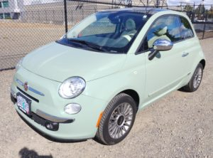 2013 Fiat 500 Lounge Hatchback 2D