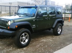 2008 Jeep Wrangler Unlimited X SUV 4D