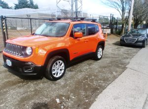 2015 Jeep Renegade Latitude SUV 4D
