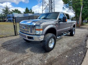 2008 Ford F350 Super Duty Crew Cab Lariat Pickup 4D 6 3/4ft