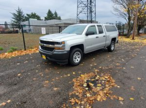 2019 Chevrolet Silverado 1500 LD Double Cab WT Pickup 4D 6.5 ft