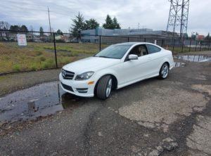 2015 Mercedes-Benz C 250 Coupe 2D