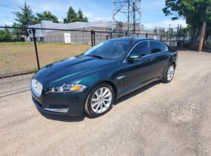 2012 Jaguar XF XF Sedan 4D