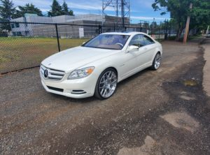2012 Mercedes-Benz CL Class CL 600 Coupe 2D