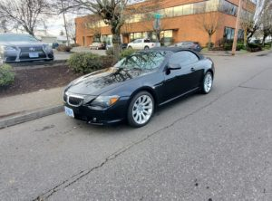 2006 BMW 6 Series 650i Convertible 2D
