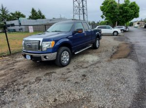 2012 Ford F150 Super Cab XLT Pickup 4D 6.5ft